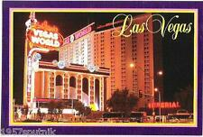 Bob Stupak's Vegas World dead casino Night postcard pre-Stratosphere PC Las NU v