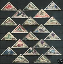 MONACO # 371-90 MNH  Overprinted Triangles