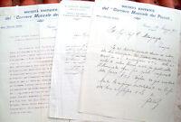 1912 CORRIERE MUSICALE DEI PICCOLI FIRENZE CARTEGGIO AUTOGRAFO. FELICE BOGHEN