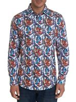 Robert Graham Northchase L/S Printed Sport Shirt, Classic Fit, Multicolored