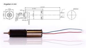 Mini DC Motor 4,5V 80mA 32rpm kleiner Getriebemotor  4,5 V Miniatur Modellbau
