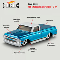Hot Wheels RLC Exclusive 1969 Chevy C-10 Red Line Club 2020 NEW Limited Edition