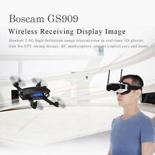 Boscam GS909 5.8G 32CH 3D Video FPV Goggles Glasses w/ Double Transmitting Lens