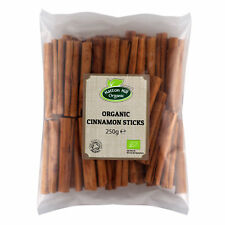 Organic True Cinnamon Sticks / Quills 250g by Hatton Hill Organic - Certified or