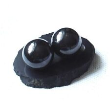 Shungite Schungit Polished Sphere ball 35mm crystal elite With Stand Protection