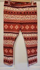 New Girls Wonderkids Redand White Designs Leggings Size 5T