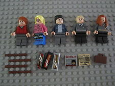 Lego 4841 Harry Potter Luna Lovegood  Weasly Hermione Drago Mini figure Rare