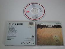 WHITE LION/BIG GAME(ATLANTIC 781 969-2) CD ALBUM