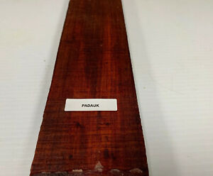 """1/2 """" X 4 """" x 30 """" Beau ! Padouk Mince Stock Charpente Planches Bois Crafts Sans"""