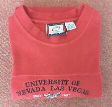 University of Nevada Las Vegas Rebels Red Crewneck Sweater 2XL