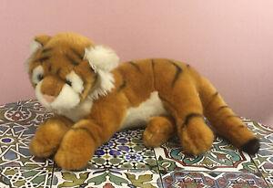 John Lewis Tiger Plush Soft Cuddly Comforter Toy