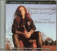 Dave Malachowski Band -  Greatest American Folk Songs - CD - NEW
