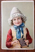 Antique Scott's Emulsion Litho Trade Card Scott & Bowne, New York