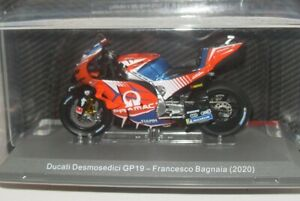 FRANCESCO BAGNAIA (2020) DUCATI DESMOSEDICI MOTO GP 1/18 ALTAYA MODEL