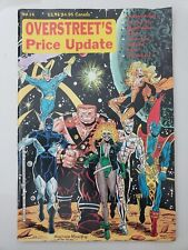 OVERSTREET'S PRICE UPDATE COMICS MAGAZINE #14 1990 GUARDIANS OF THE GLAXY COVER