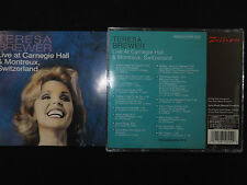 CD TERESA BREWER / LIVE AT CARNEGIE HALL & MONTREUX SWITZERLAND /