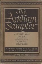 Arkham Sampler Autumn 1948 from Arkham House with Lovecraft & August Derleth