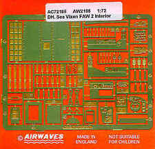 Airwaves 1/72 de Havilland Sea Vixen FAW. 2 Interior for Revell kit # AEC72185