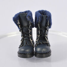 shoes boots for Lammily Doll Exclusive First Edition Real Life Barbie Doll blue2