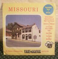 View-Master Missouri, Vacationland Series, 3 Reel Set