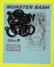 1998 Williams Monster Bash pinball rubber ring kit