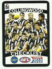 Select Checklist Teamcoach AFL & Australian Rules Football Trading Cards
