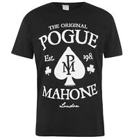 Official Mens Band T-Shirt The Pogues Crew Neck Tee Top Short Sleeve Cotton