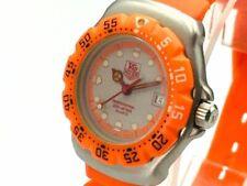 TAG HEUER Watch 373.503 Formula 1 Orange   Quartz St.Steel Date   T1395
