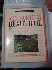 AQUARIUM BEAUTIFUL By A. Van Den Nieuwenhuizen - Hardcover *Excellent Condition*