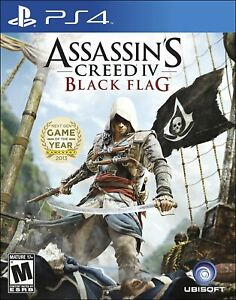 Assassin's Creed IV Black Flag Playstation 4 PS4 PS5 Ubisoft Battle - Brand New!