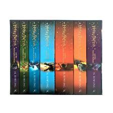 La serie completa 1-7 de Harry Potter por J.K. Rowling (2013, libro de bolsillo)