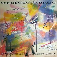 Michael Heizer Geometric Extraction Hochwertiger Offsetdruck