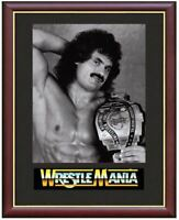 Rick Rude Ravishing Wrestling Legend Mounted & Framed & Glazed Memorabilia