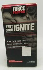 Force Factor Test X180 Ignite 60ct Exp 3/2021+ DENTED