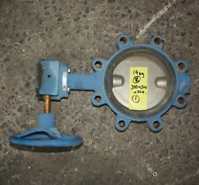 """Dura Lugged 2.5"""" inch DN150 150mm Butterfly Valve CF8M DISC EPDM Seat Iron Body"""