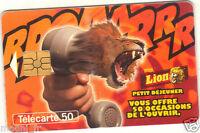 Télécarte - LION (A3049)