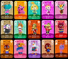 Custom Animal Crossing Amiibo cards [3 for £5.99] Over 400 Characters Available!