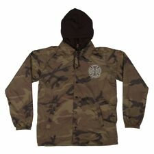 Independent Trucks FOIL TRUCK CO LOGO Hooded Windbreaker Jacket CAMO XL