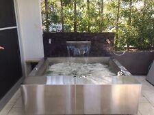 FREESTANDING OR SUNKEN STAINLESS STEEL BATH TUB SPA SPABATH YOUR DESIGN