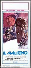 IL MALIGNO LOCANDINA CINEMA HORROR FUEST 1975 THE DEVIL'S RAIN PLAYBILL POSTER