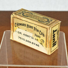 Vintage Box of Hunt Assorted Pen Nibs Falcon Manuscript Globe All Round Congress