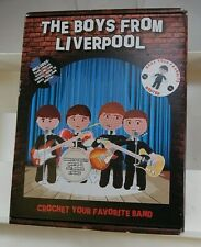 New Boys From Liverpool Crochet your own Beatles Doll Complete Kit Ships Free