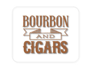CUSTOM Mouse Pad 1/4 - Bourbon and Cigars