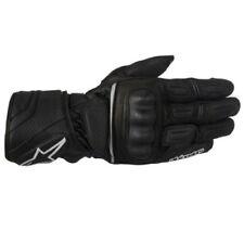 Guanti in pelle nera per motociclista Drystar