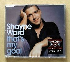 Shayne Ward - That's My Goal (3 Track EP), CD. The X Factor Winner.