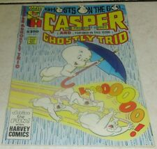 Casper and...The Ghostly Trio 5, (NM 9.4) 1988 Harvey!