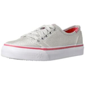 Keds Double Dutch Girls Silver/Pink Sneakers