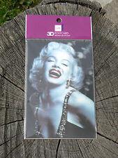 NUOVO Memory Technology cartolina 3D postcard Marilyn Monroe