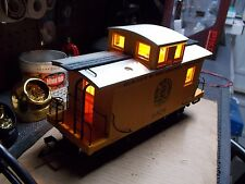 LED Bobber Caboose lighting 2x2x2 Warm White with 2 Blinking Amber Tail Lights