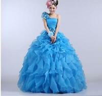 Ladies Bridal Quinceanera Gown Dresses Dress Formal Prom Pageant Ball Evening sz